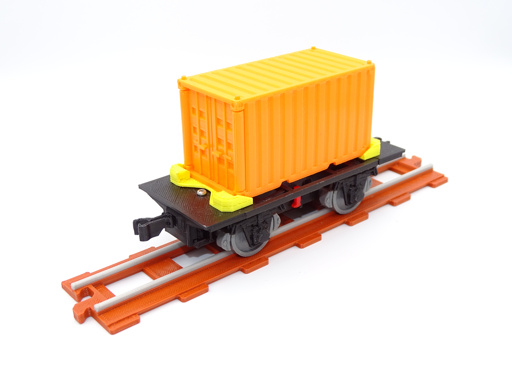 3D-printed Container wagon